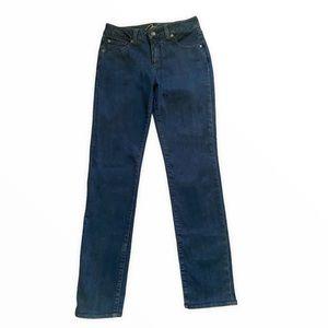 Miracle Body High-Rise Straight Leg Denim Jeans